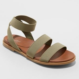 Universal Thread | Elastic Ankle Sandals | NWT